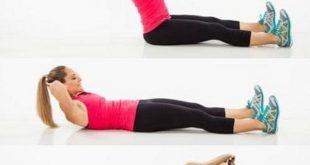 Gập bụng – phương pháp giảm mỡ bụng tại nhà 7